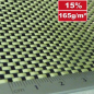 Preview: 165g/m²  Hybrid Fabric Plain  -  Carbon/Kevlar  HP-P167AC
