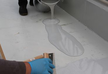 5 kg Levelling Coating System RAL7032 - Epoxy Resin | HP-E30VB
