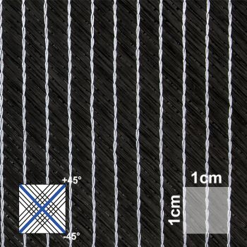 80 g/m² Bidiagonal Carbon fabric | HP-B080C