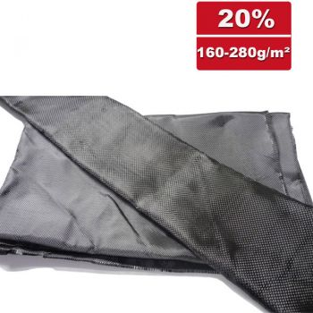 SP-C200L-500 / Carbon Fabric - Plain - without tracers