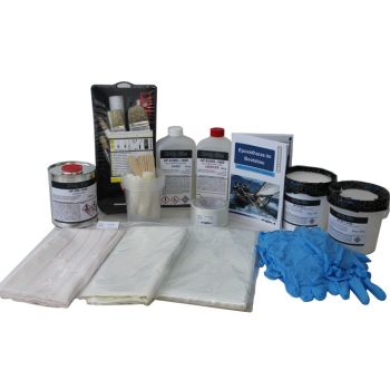 Fiberglass repair kit GRP | HP-KS-GFK01