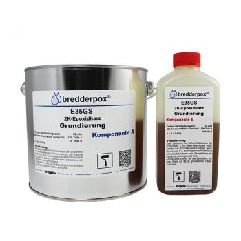 4 kg Epoxy Priming Resin 35 min (low viscous) | HP-E35GS