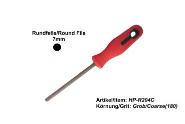 Round 7mm File HP-R204C