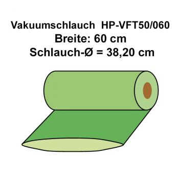 50 g/m² Vacuum Bagging Film Tube | HP-VFT50/060