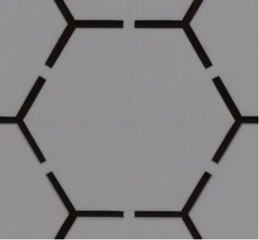 3D|CORE™  3 mm XPS HEXAGON | HP-3DXPS-HX-3
