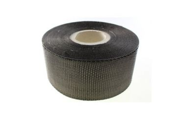 200 g/m² Carbonfabric-Tape Plain (100 mm) | HP-P202C/100