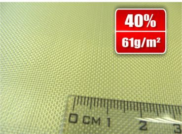 61g/m²  Aramid Fabric  Plain   SP-P60A