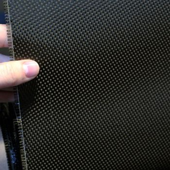 Carbonfiber fabric 1K-Fibre 120g/m² Satin (Atlas 1/4) | SP-S120C