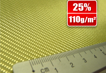 110g/m²  Aramid Fabric  Twill 2/2  SP-T110A