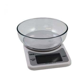 Digitale Tischwaage,  5Kg/1g mit LCD Display | HP-VZ3006