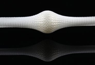 Glass Fibre Braided Sleeve 136tex (D= 100 mm at 45°) | HP-BSE100/720
