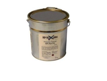 Polyester resin topcoat with hardener | HP-P21TC