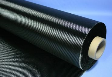 Carbon Fabric 245 g/m² Twill | HP-T240C