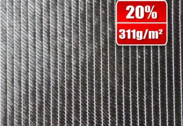 311g/m² Bidiagonal carbon fabric SP-B311/1370CE