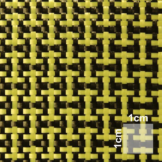 180 g/m² Hybrid Fabric Plain Carbon/Kevlar | HP-P180AC