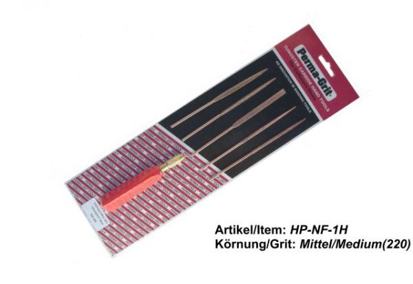 5 Needle Files Set HP-NF-1H