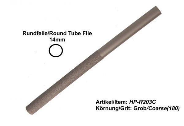 14mm Tube File HP-R203C