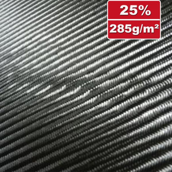 285g/m² Carbon Fabric Twill | SP-T286/125C