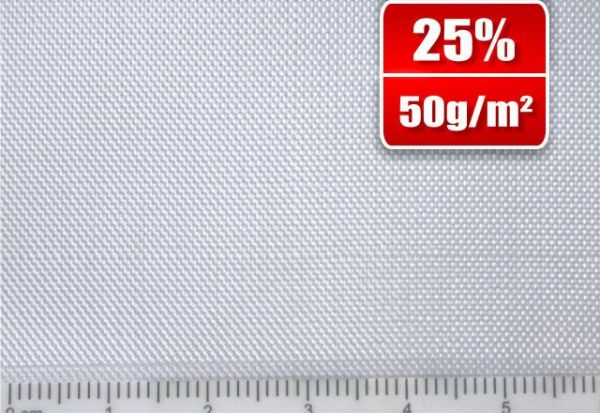 49g/m² Glasfilamentgewebe Finish Leinwand   SP-P50/127EF