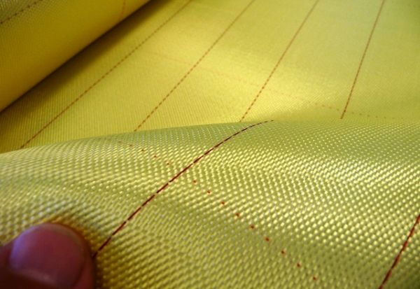 171g/m²  Aramid Fabric  Satin S 1/7 | SP-S171