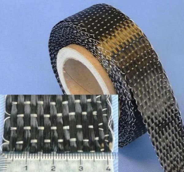 340 g/m² Unidirectional-Carbonfabric-Tape (40 mm) | HP-U340C/040