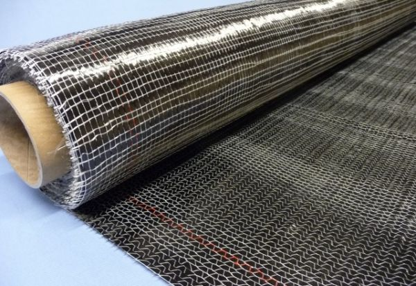 320g/m² Unidirectional Carbon fabric 0° with EP-Binder SP-U335C